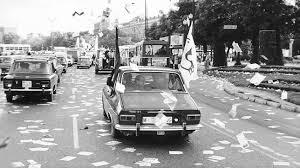 Campaña electoral en 1977